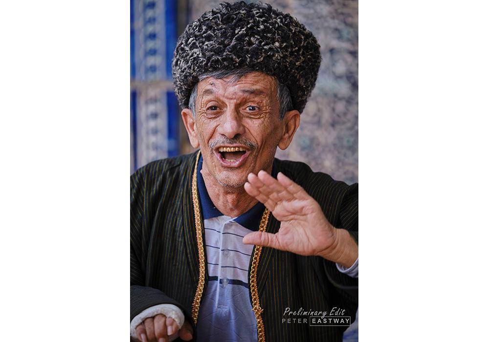 Khiva Musician - Uzbekistan