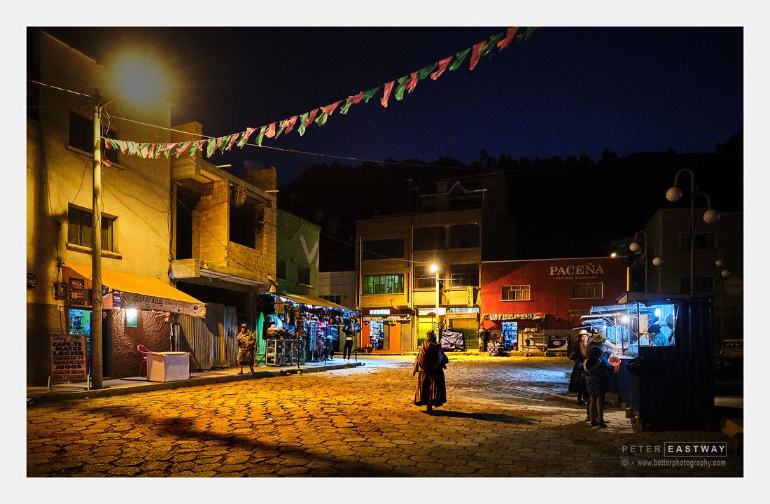 Street Scene, Tiquina, Bolivia